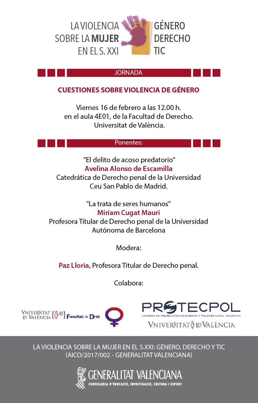 Violencia TIC Jornada 16-02-18