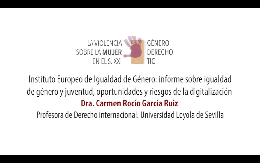 Violencia TIC_Congreso_ Carmen Rocío_rotulo
