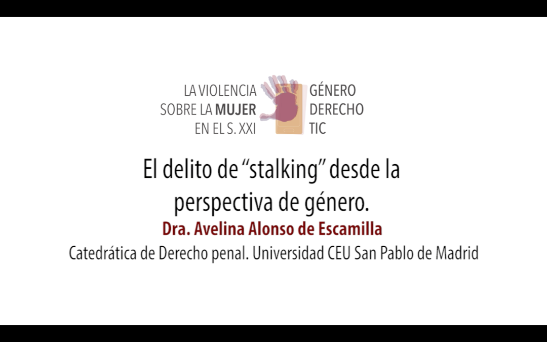 Violencia TIC_Congreso_Avelina Alonso_rotulo