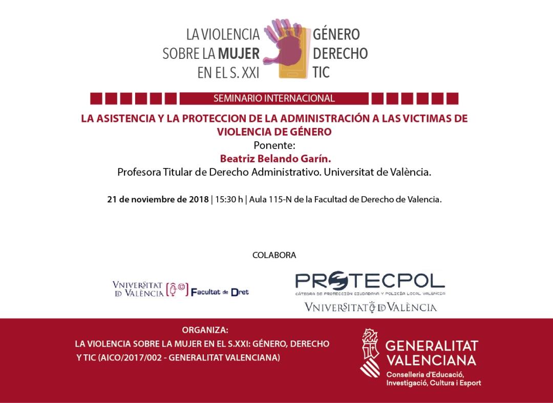 Violencia TIC cartel Conferencia 21-11-18